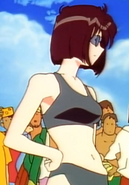 Natsumi Tsujimoto in The Challenger of Beach Volleyball Man