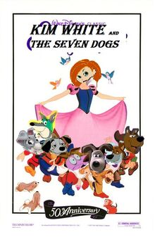 Kim white and the seven dogs.jpg
