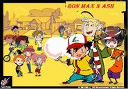 Ron max n ash poster