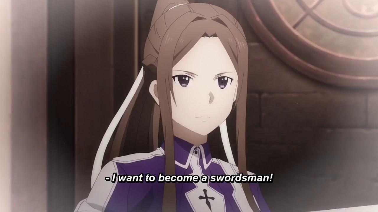 Sword art online alicization war of underworld new trailer.