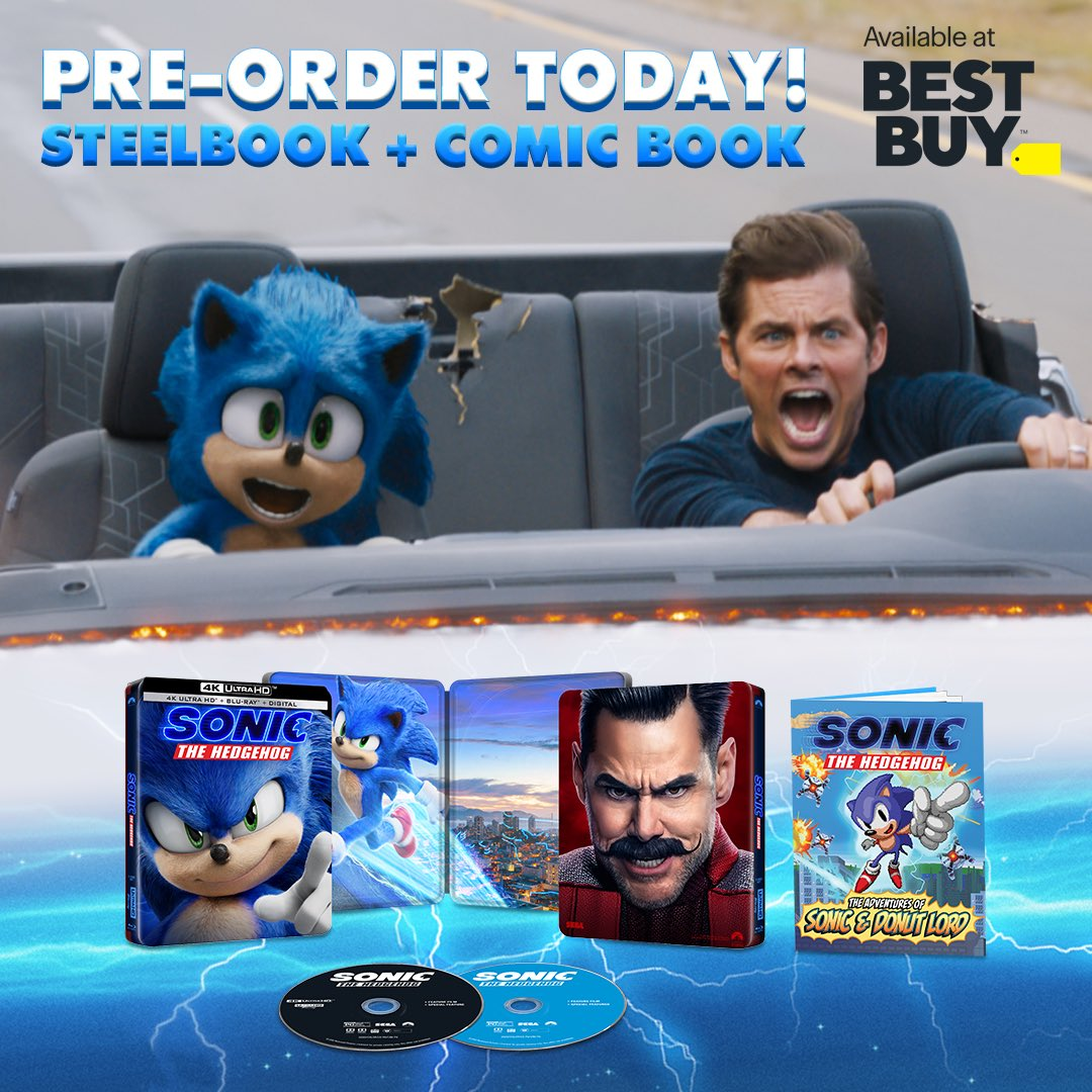 Do You Think There Is Going To Be A Sonic Movie Game Or Book Fandom
