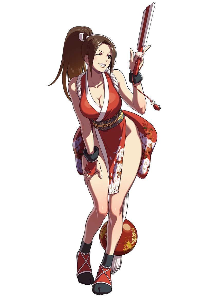 This is sexy ninja Mai Shiranui.