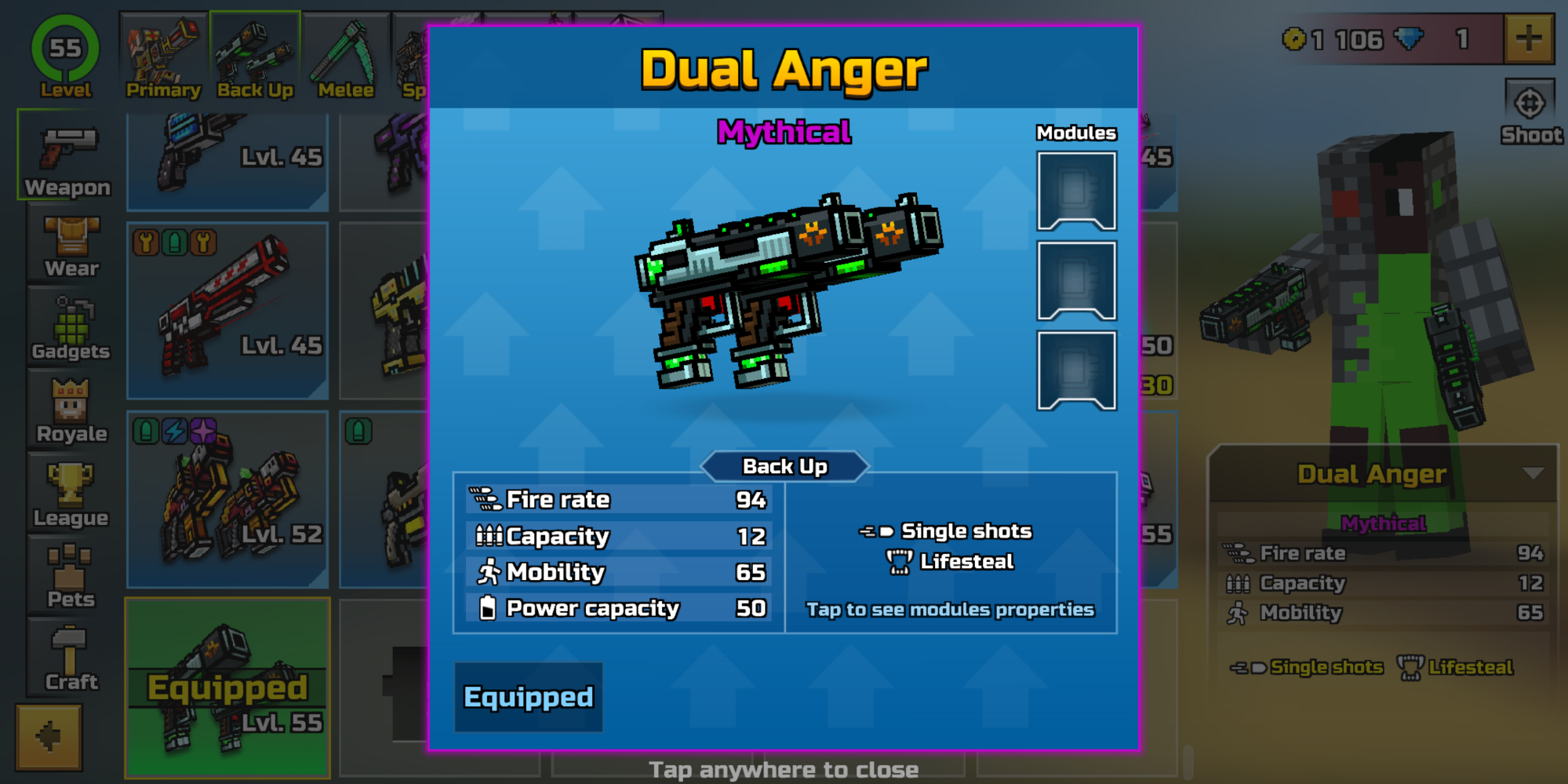 Finally got the Dual Anger
