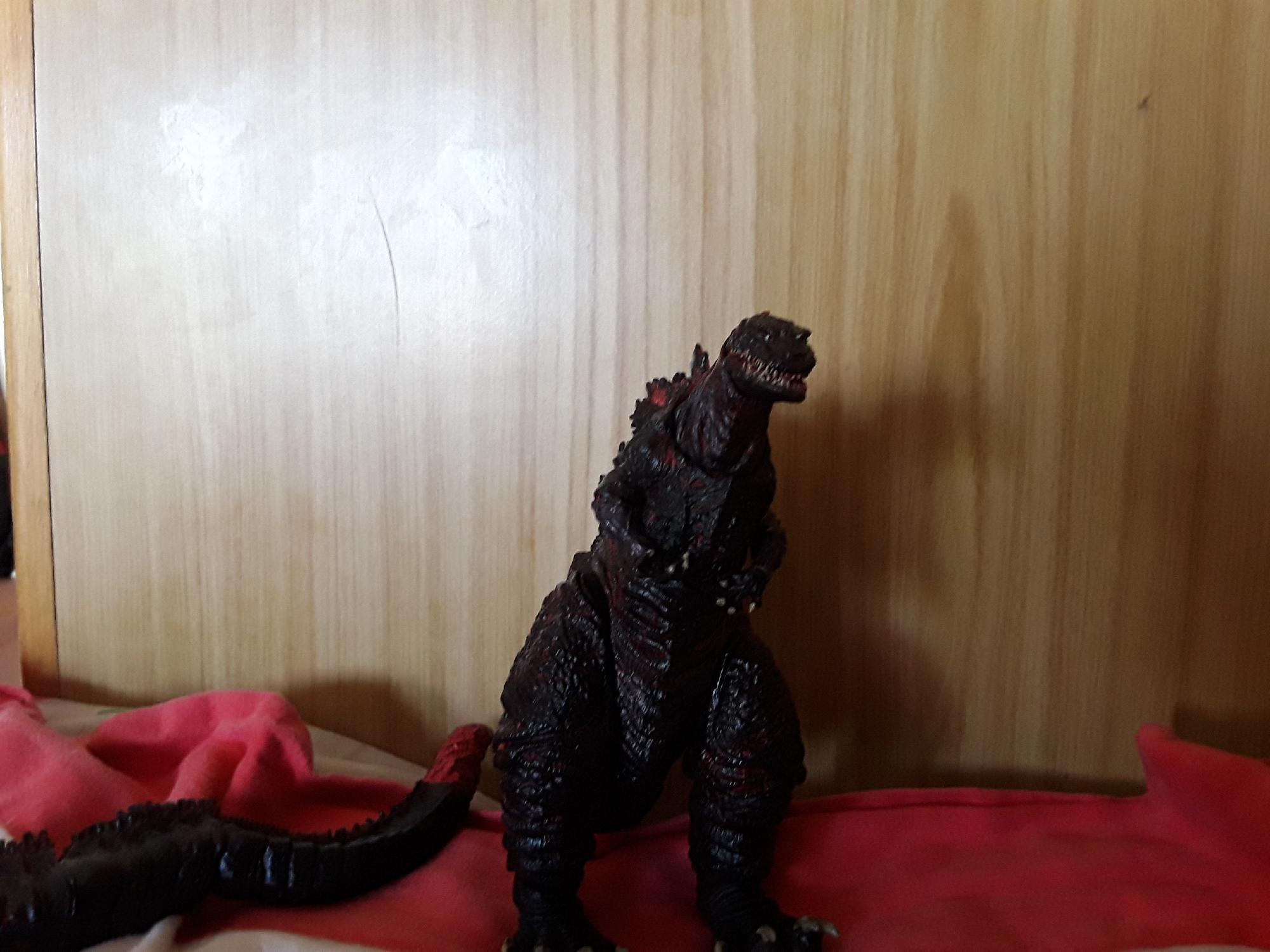 Tengo un juguete de neca de Shin Godzilla