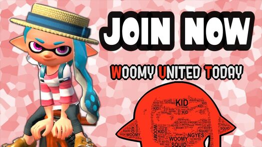 Woomy United Today Guidelines - Squid Party Etiquette