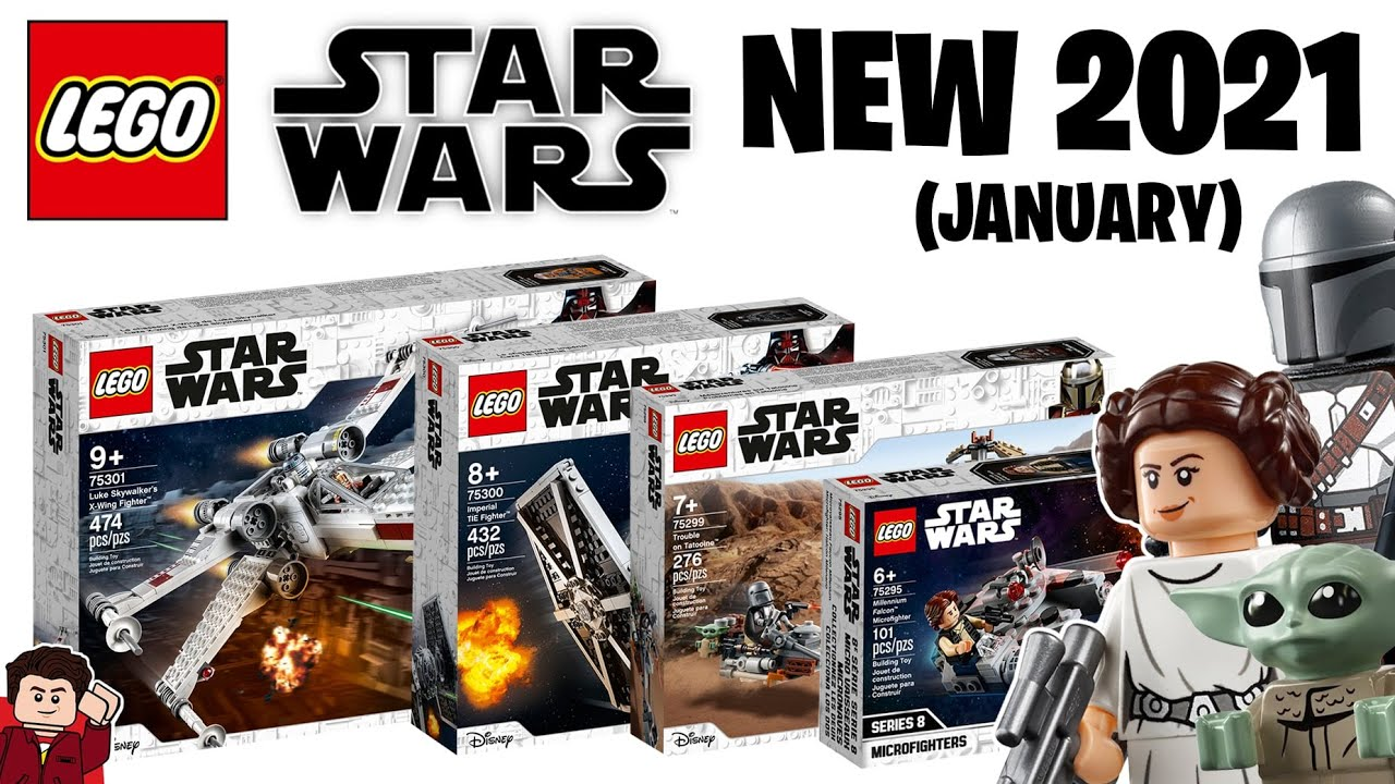 LEGO Star Wars 2021 Sets Revealed