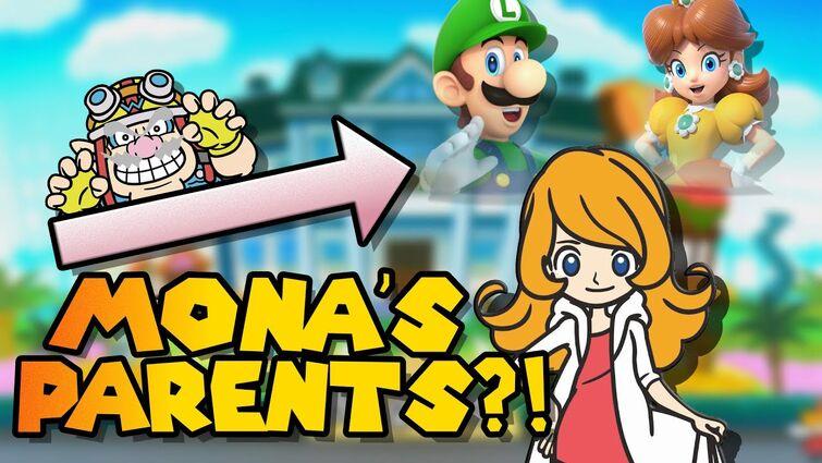 Mona's Parents Are Luigi and Daisy?! WarioWare Future Theory!