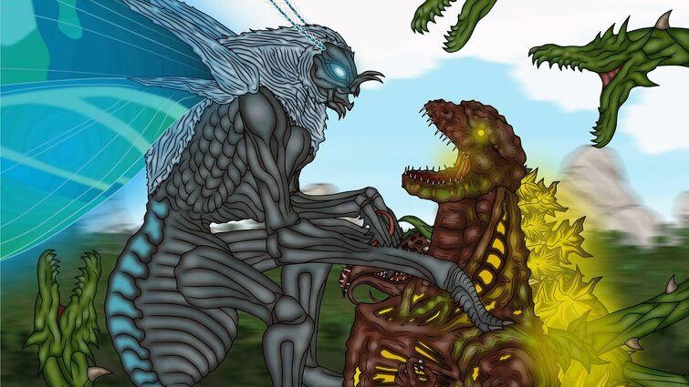 Кинг Конг против Годзиллы 27 / King Kong vs. Godzilla 27 - Shin Godzilla-Biollante Alive