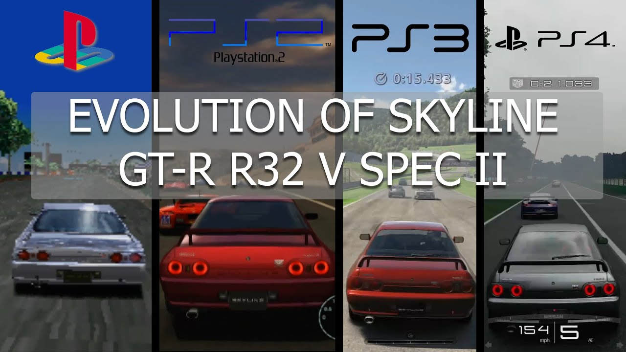Gran Turismo Evolution Nissan Skyline R32 GT-R V Spec II
