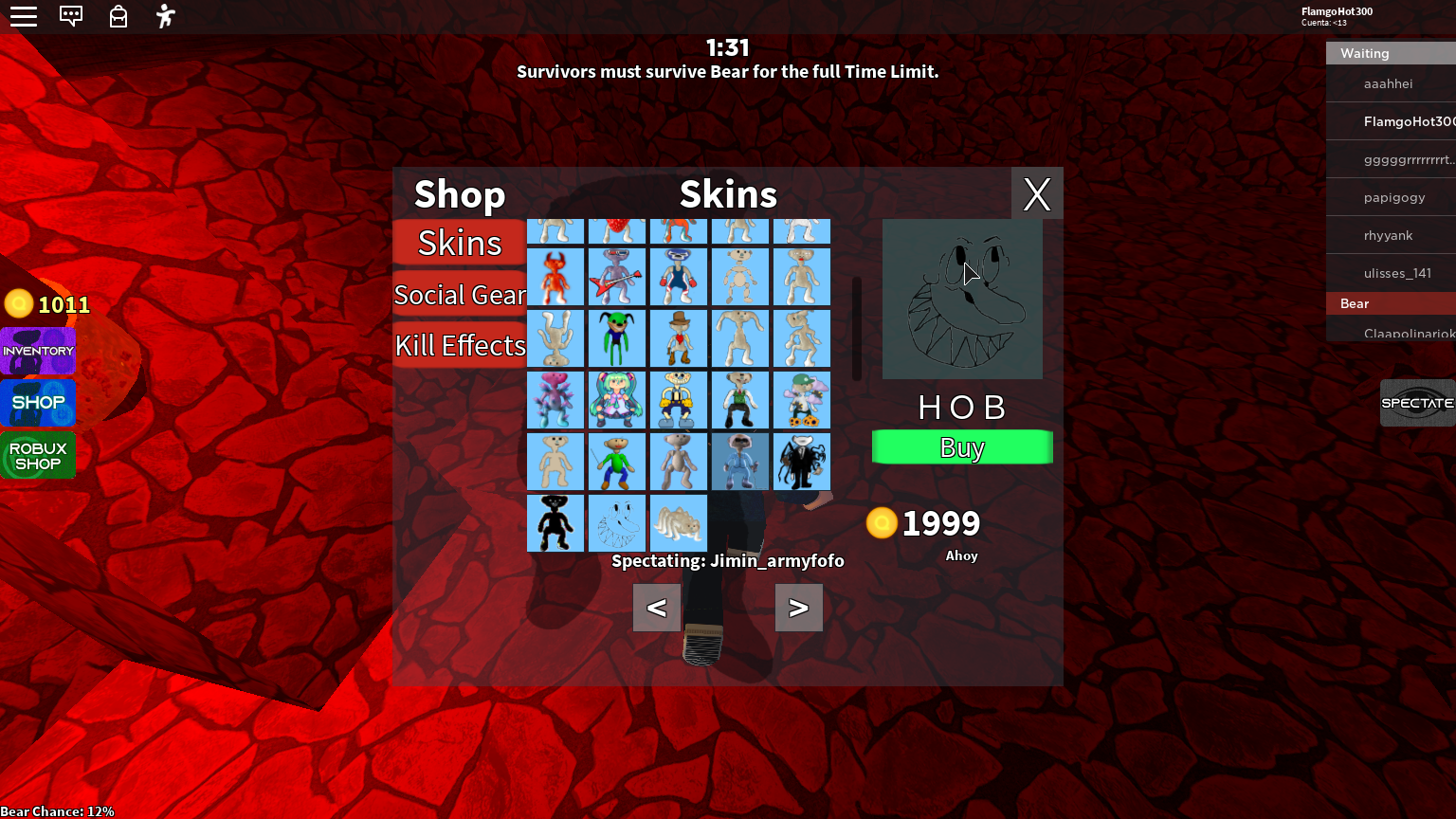 Roblox Epic Skins Epic New Skins In Bear Alpha With A New Map D Fandom