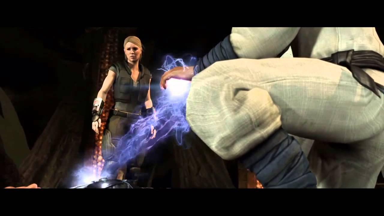 Mortal Kombat X Scorpion, Jax and Sub-Zero became humans again