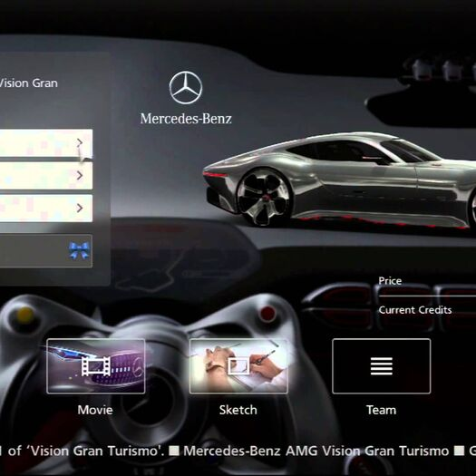 Gran Turismo 6 how to unlock Mercedes-Benz AMG Vision Gran Turismo