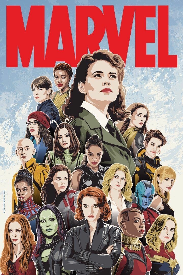 Who's the best female in Marvel?