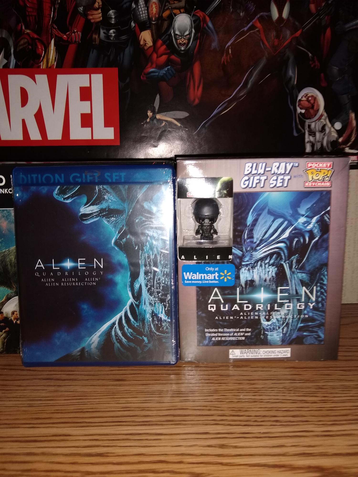 I Bought all 4 Alien Movie's on Blu-ray at Wal-Mart Today