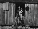 Farm Security Administration sharecropper photo of Mrs. Handley and some of her children in Walker County, Alabama. - NARA - 195926 (2)