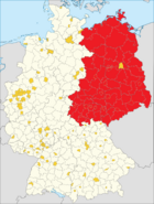 The GDR. AKA- East Germany or the DDR