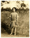 Lewis Hine, Ruth Rous, age 11 or less, cotton mill worker, Randleman, North Carolina, 1913