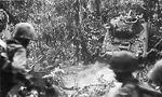 Medium tank crosses Suicide Creek