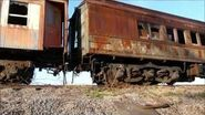 Catskill Mountain Railroad coaches finally move