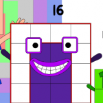 Official numberblock 16