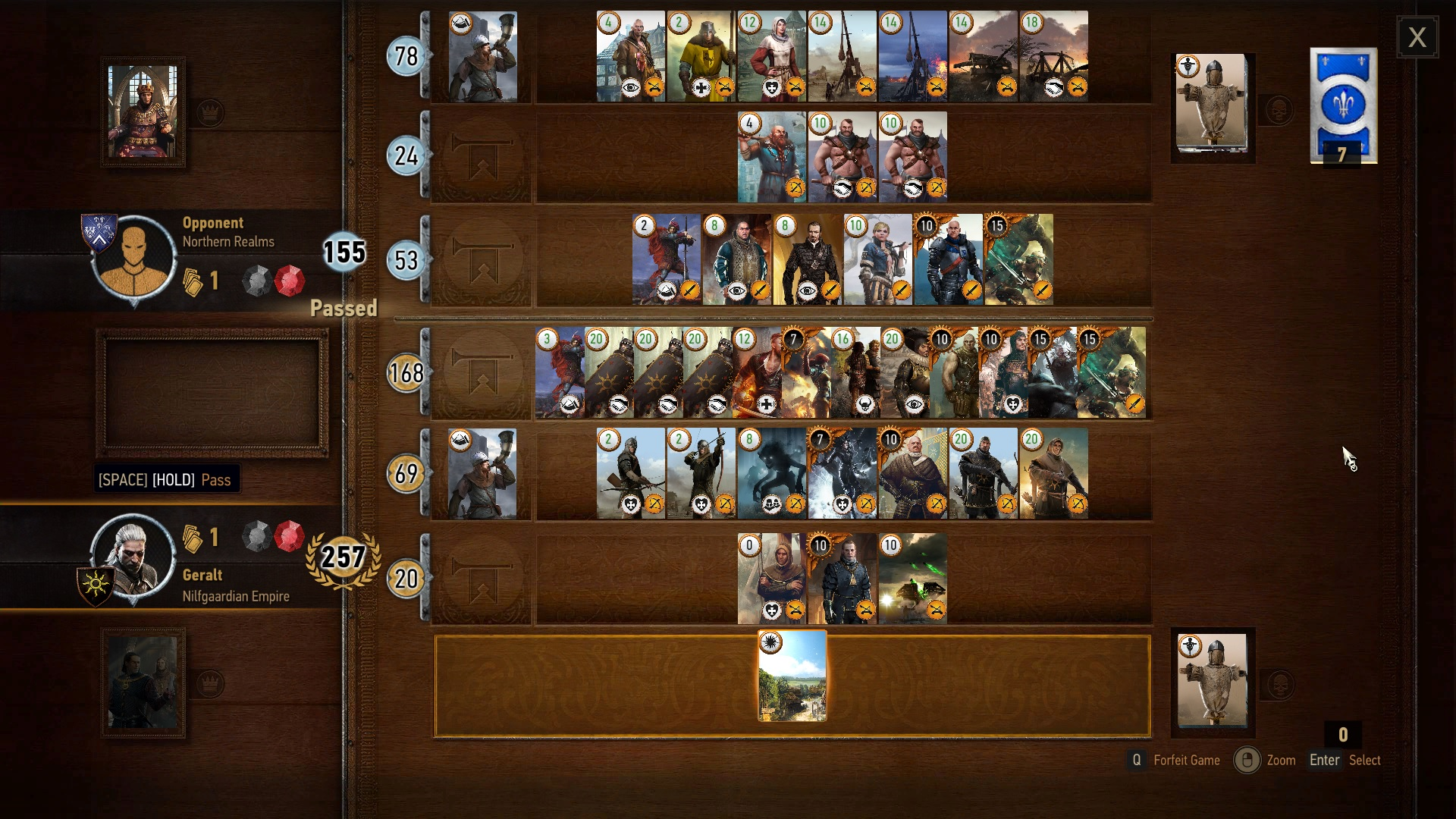 Does anyone here play Gwent?