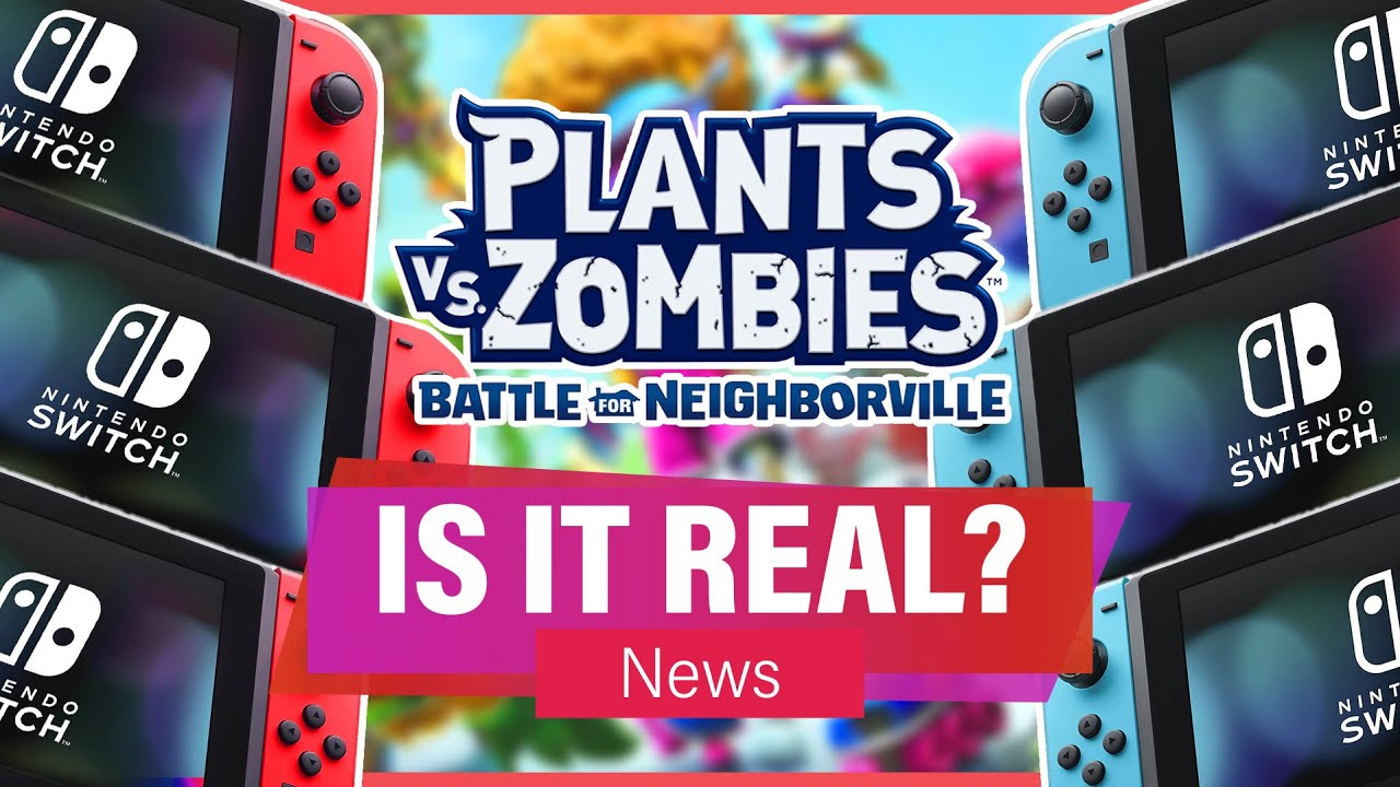 BFN ON SWITCH MIGHT ACTUALLY BE REAL!! (PvZ News Update) | PvZBfN Complete Edition Listed on Walmart