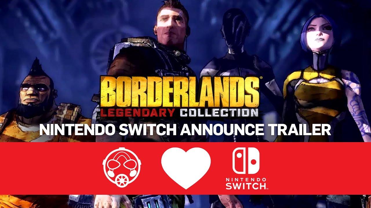 Borderlands Legendary Collection – Nintendo Switch Announce Trailer