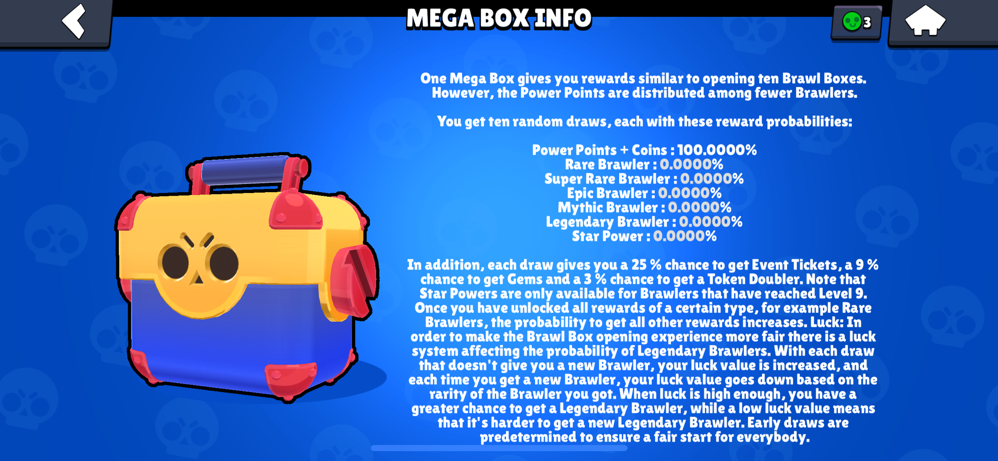 Should i buy mega box with this chance? Lol ;)