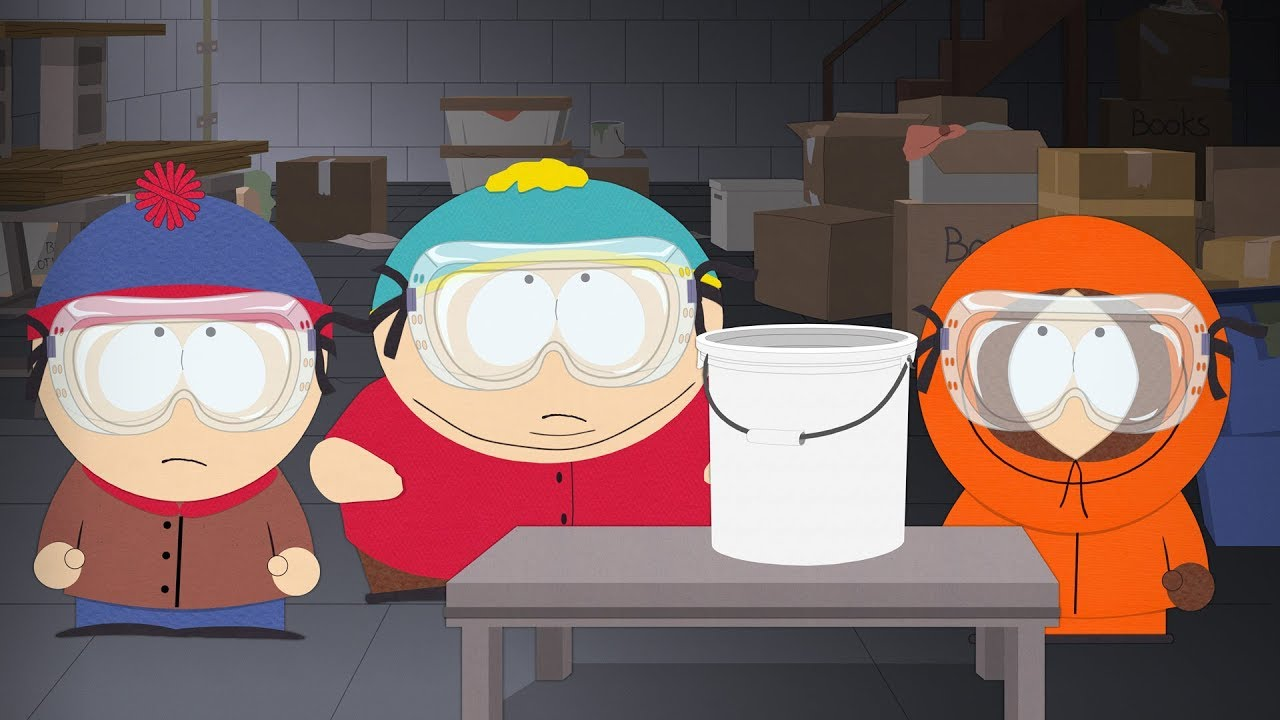 She Must Poop Two Pounders - SOUTH PARK