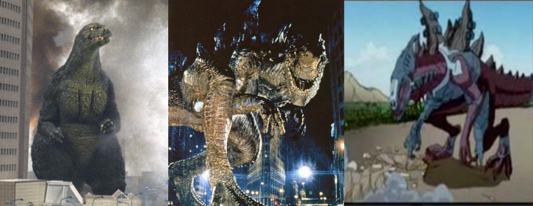 Godzilla jr. Ist Godzilla 1998 (Zilla)