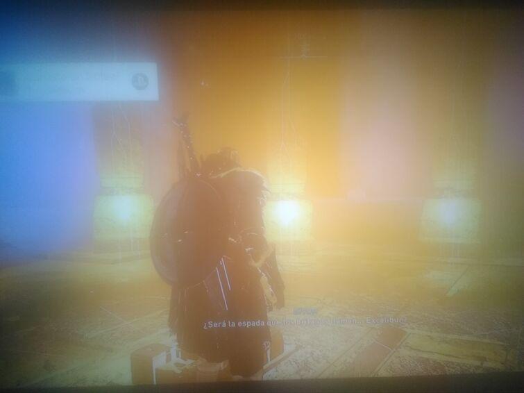 Ahora mismo conseguí lanza de Odín y la espada Escálibur del Rey  (continuación)