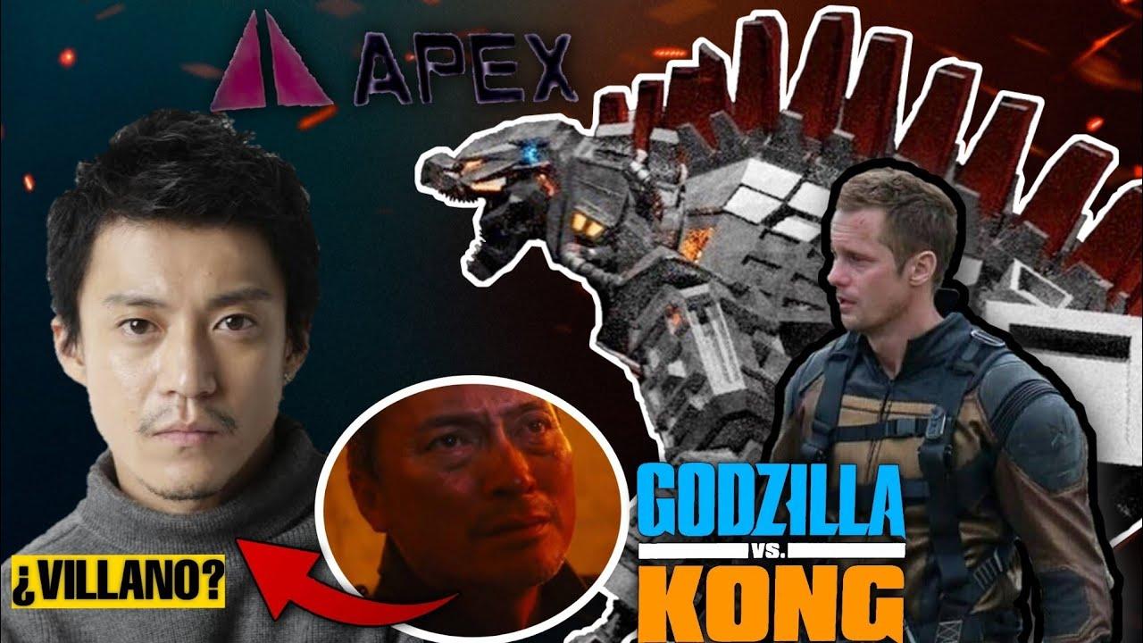 Ren Serizawa ¿Posible Villano? | Apex Cybernetics |Godzilla Vs. Kong | Spoiler Alert