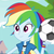 Rainbow Dash The Rainbow Haired Pony