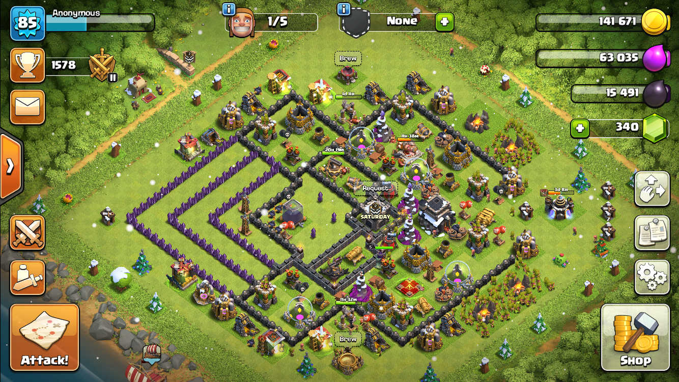 I know that I'm rushed. Besides walls, what should I be focusing on upgrading? Thanks