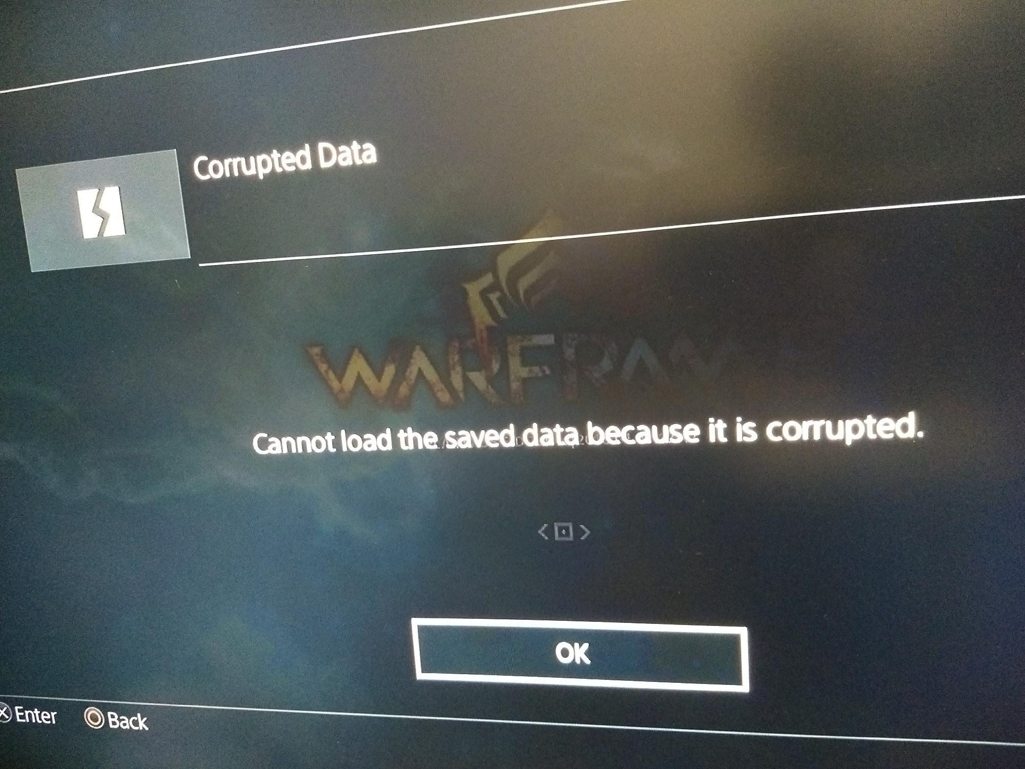 PS4 Corrupted Data | FANDOM