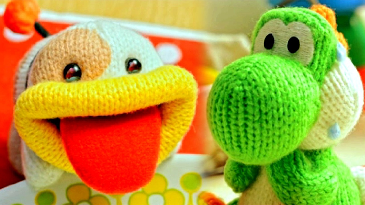 Poochy and Yoshi's Woolly World ALL MOVIES (3DS)