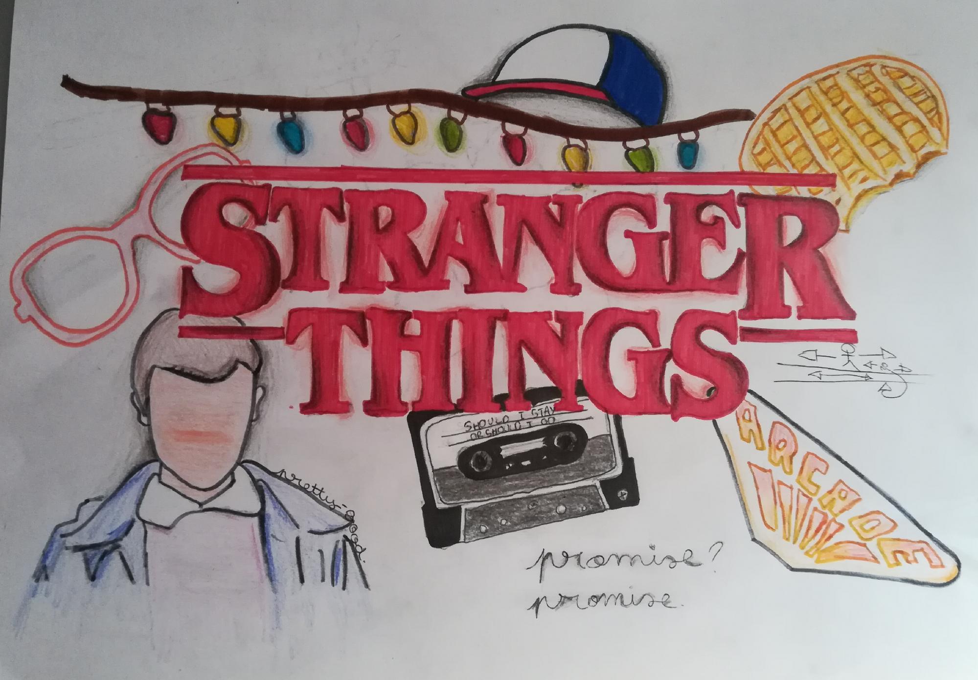 Fanart de Stranger Things