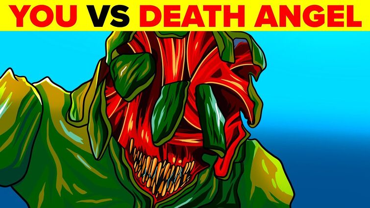 You vs Death Angel Alien in A Quiet Place Movie - Could You Defeat and Survive It?