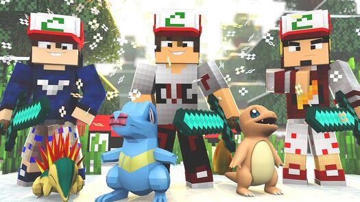 Minecraft: POKEMON ICE HARDCORE Ep.1 - E LA VAMOS NÓS ‹ Caique Vieira ›