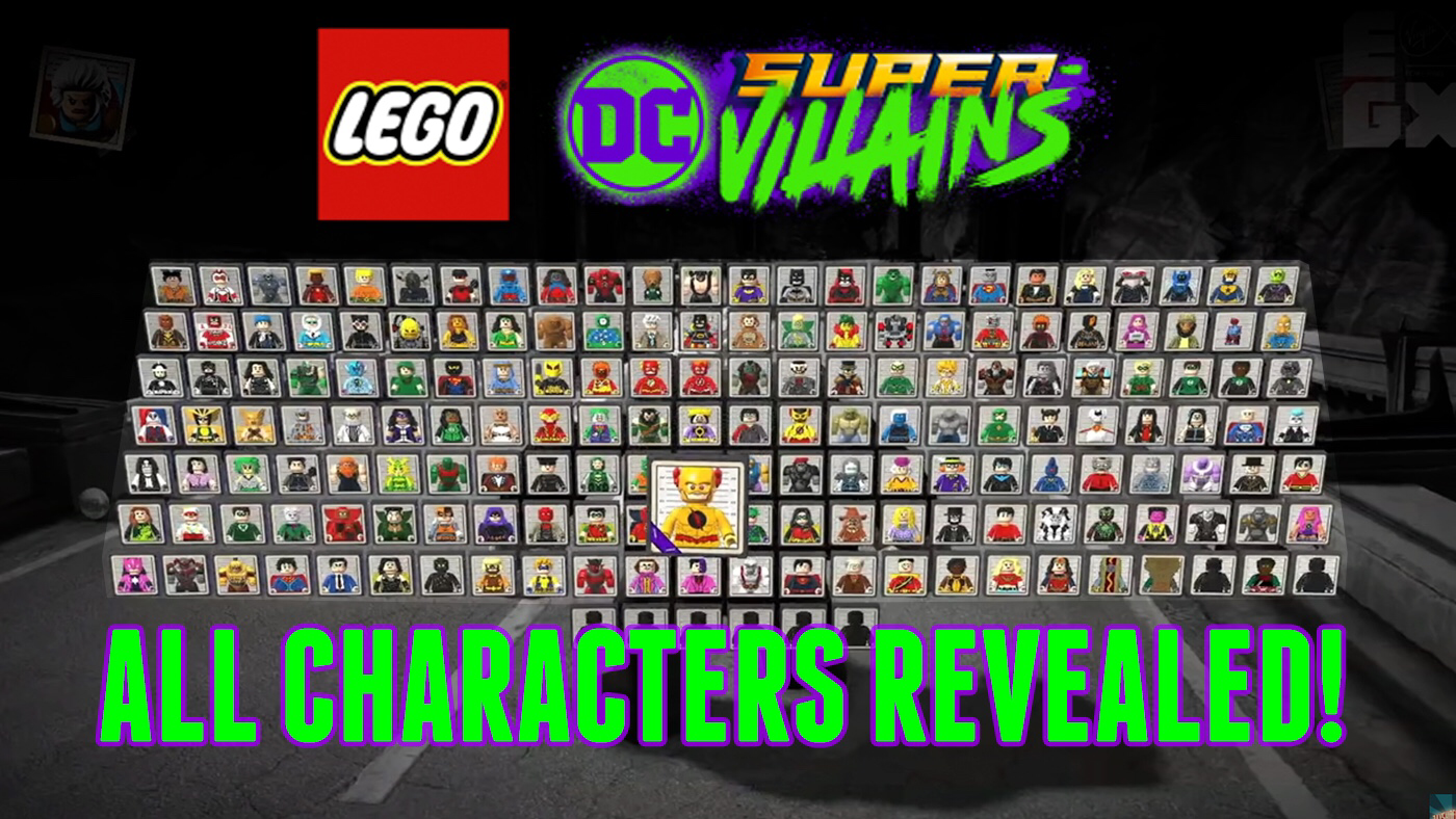 Have you guys seen all the characters in this game?