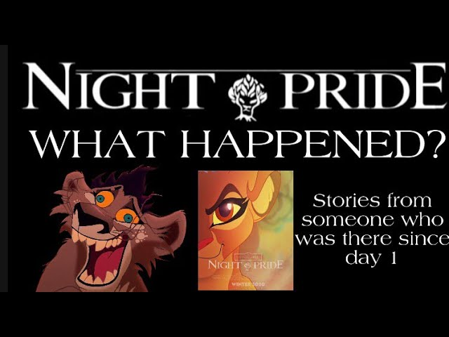 What happened to THE NIGHT PRIDE SERIES?