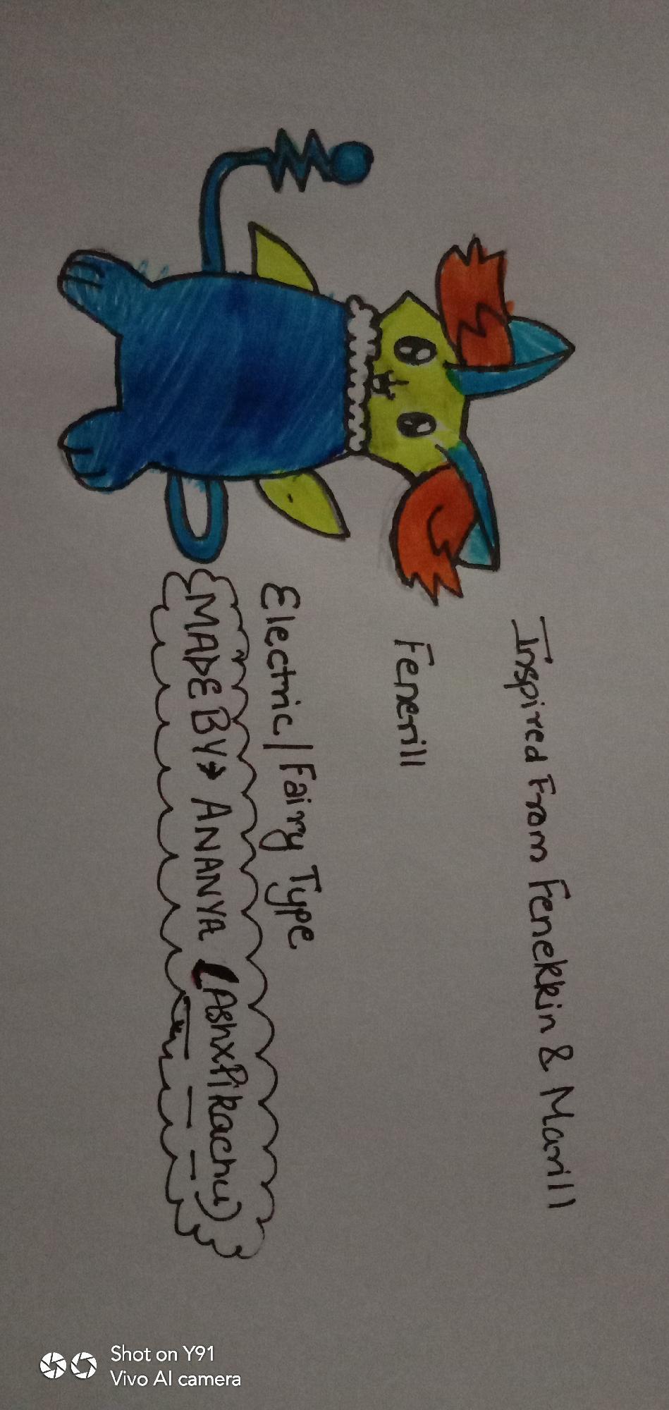 Gary Oakkk's Fakemon Art Contest!