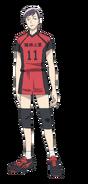 Tomoki anime design