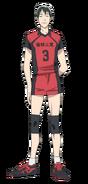 Issei anime design