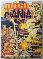 Mega-Mania boardgame, artwork by Brett Ewins