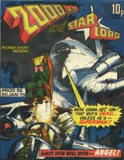 2000AD Prog 96 cover, art by Ian Kennedy
