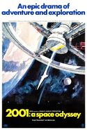 2001 - A Space Odyssey theatrical poster