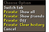 Clear Private Chat & More