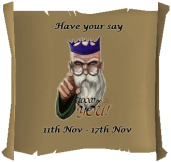 2014 - Have your say!