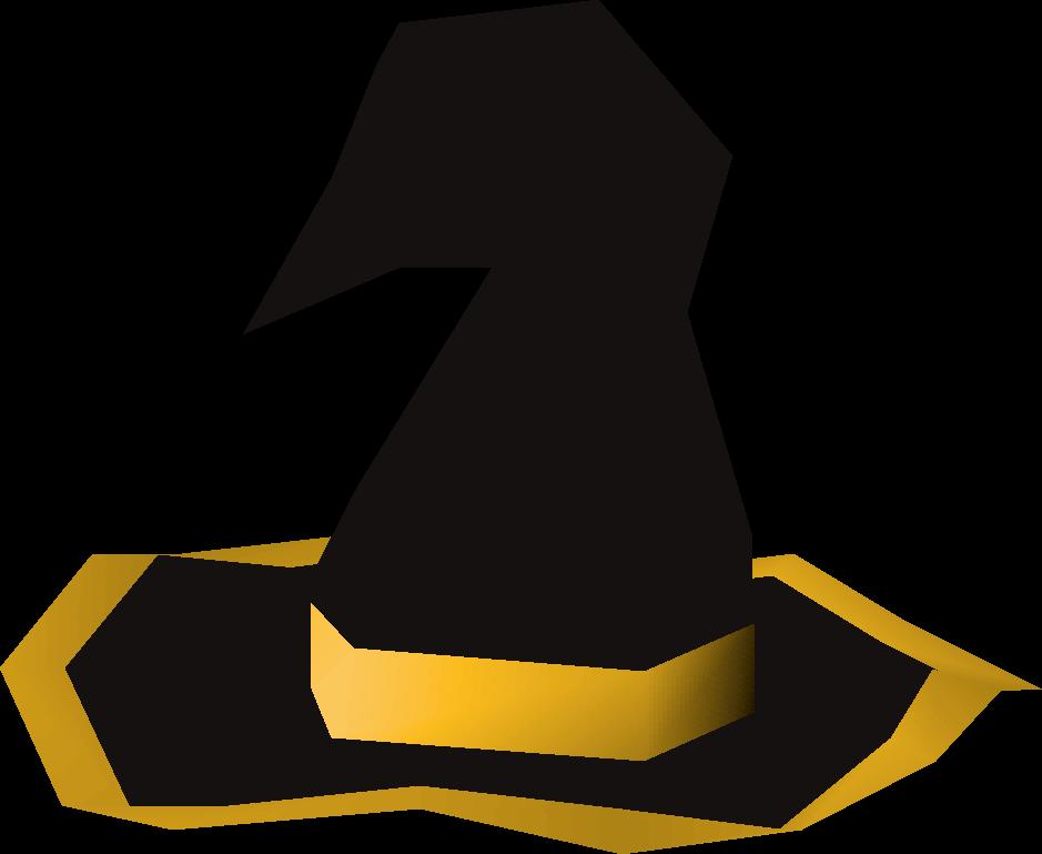Black wizard hat (g)